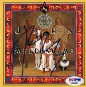 John Mellencamp Signed Mr Happy So Lucky CD Cover with CD PSA/DNA COA