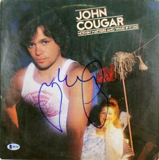 John Mellencamp Signed Nothin Matters And What If It Did Album Cover BAS #B51789