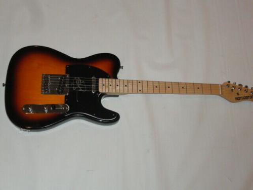 John Mellencamp Signed Sunburst Electric Guitar Cougar Legend Proof Jsa Coa