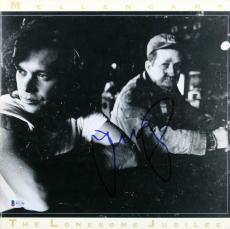 John Mellencamp Signed The Lonesome Jubilee Album Cover BAS #B51786
