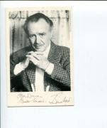 Autographed John Mills Photo - Gandhi Swiss Family Robinson