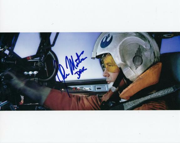 JOHN MORTON signed (STAR WARS Empire Strikes Back) 8X10 photo *Rebel Dak* WCOA