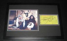 John O'Hurley Signed Framed 11x17 Photo Display Seinfeld J Peterman