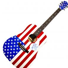 John Ozzy Osbourne Signed Black Sabbath USA Acoustic Guitar UACC RD COA AFTAL