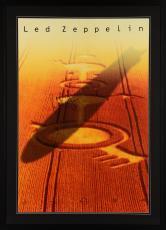 "John Paul Jones Framed Autographed  30"" x 40"" Led Zeppelin Poster - Beckett LOA"