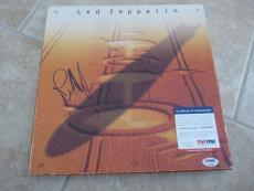 John Paul Jones Led Zeppelin Signed Autograph Empty Box Set Cover PSA Certified