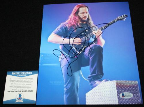John Petrucci signed 8 x 10, Dream Theater, Awake, Beckett BAS