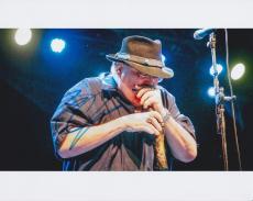 John Popper Signed Autographed 8x10 Photo Blues Traveler Lead Singer COA C