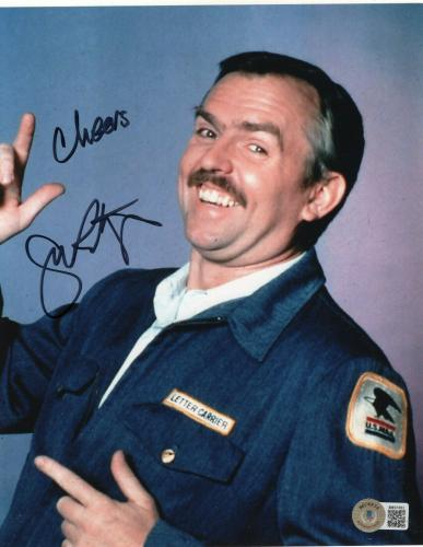 John Ratzenberg Signed Cheers TV Show 8x10 Photo w/Beckett COA BB97882