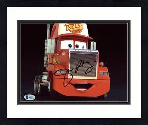 John Ratzenberger Cars Signed 8X10 Photo Autographed BAS #B91727