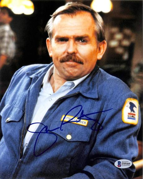 John Ratzenberger Cheers Signed 8x10 Photo Autographed BAS #F09460