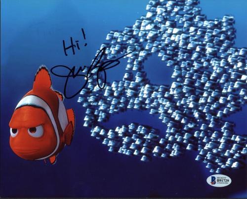 John Ratzenberger Finding Nemo Signed 8X10 Photo BAS #B91729