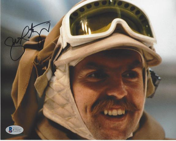 "JOHN RATZENBERGER - Played CLIFF CALVIN on ""CHEERS"" and Only Actor to Appear in All of PIXAR'S Feature Films (BECKETT) Signed 10x8 Color Photo"