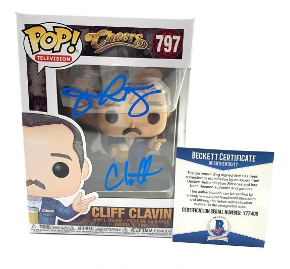 John Ratzenberger Signed Autograph 'cheers' Funko Pop Cliff Beckett Bas 12