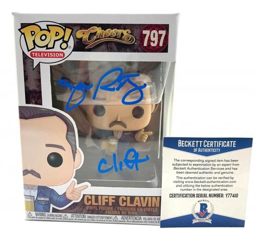 John Ratzenberger Signed Autograph 'cheers' Funko Pop Cliff Beckett Bas 20