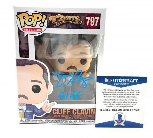John Ratzenberger Signed Autograph 'cheers' Funko Pop Cliff Beckett Bas 21