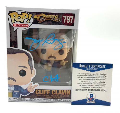 John Ratzenberger Signed Autograph 'cheers' Funko Pop Cliff Beckett Bas 29