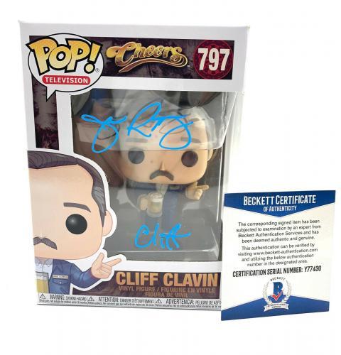 John Ratzenberger Signed Autograph 'cheers' Funko Pop Cliff Beckett Bas 31