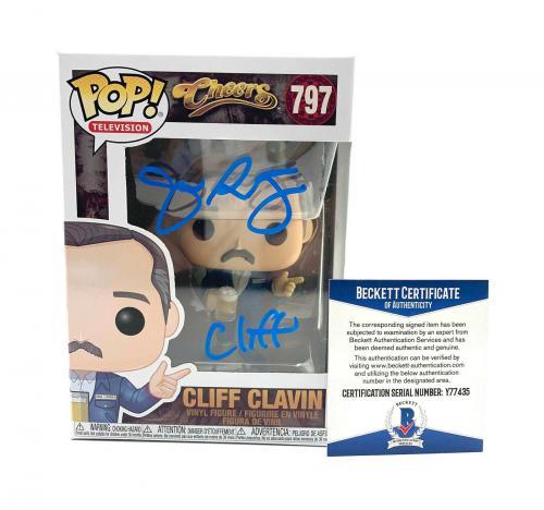 John Ratzenberger Signed Autograph 'cheers' Funko Pop Cliff Beckett Bas 35