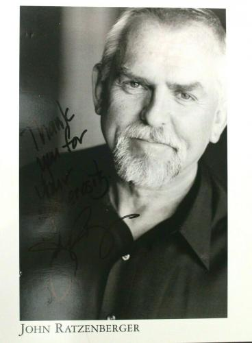 John Ratzenberger Signed Autographed 8x10 Photo Cheers Star Wars Disney Pixar