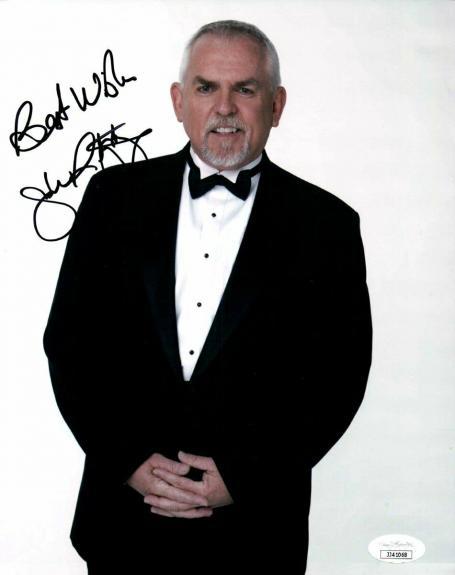 John Ratzenberger Signed Autographed 8X10 Photo Cheers Tuxedo Cliff JSA JJ41068