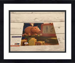 John Ratzenberger Signed Toy Story 8x10 Photo Hamm PSA/DNA COA Autographed a