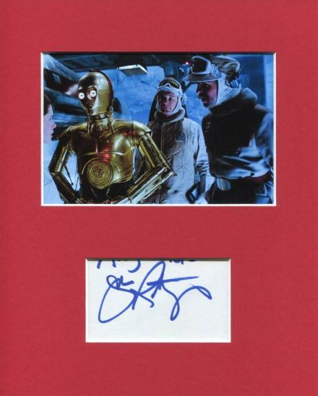 John Ratzenberger Star Wars Bren Derlin Rare Signed Autograph Photo Display