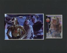 John Ratzenberger Star Wars Bren Derlin Signed Autograph Topps Photo Display