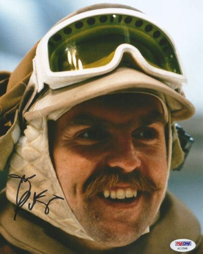 John Ratzenberger STAR WARS Emperor Strikes Back Signed 8X10 Photo PSA/DNA (C)