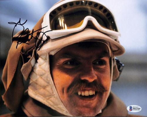 John Ratzenberger Star Wars Empire Strikes Back Signed 8x10 Photo BAS #H62369