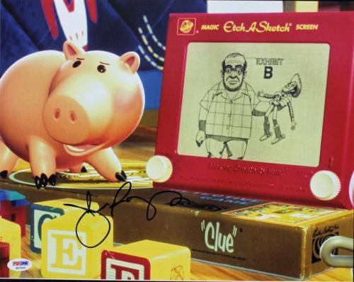 John Ratzenberger Toy Story Signed 11X14 Photo PSA/DNA #S87533