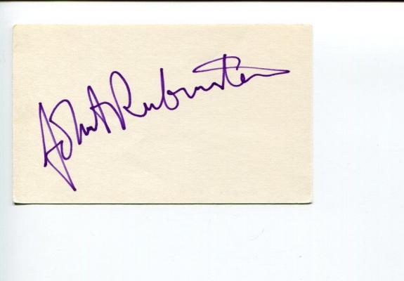 John Rubinstein Angel Star Trek Enterprise The Boys from Brazil Signed Autograph