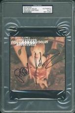 John Rzeznik & Robby Takac Signed Goo Goo Dolls Cd Cover 2 Psa Slabbed