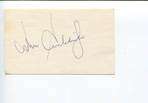 John Schlesinger Midnight Cowboy Director Oscar Winner Signed Autograph