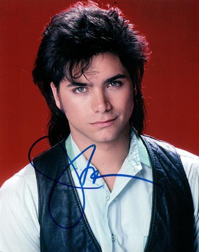 John Stamos Full House Signed Autographed Photo UACC RD AFTAL RACC TS
