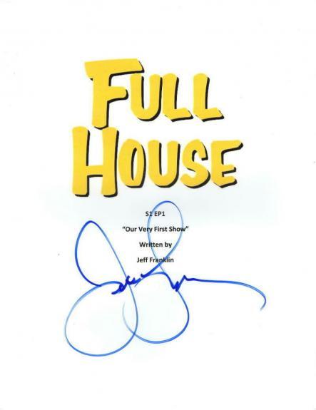 John Stamos Signed Full House Pilot Episode Full Script Authentic Autograph Coa