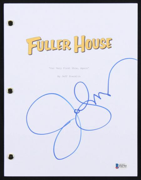 John Stamos Signed Fuller House Our Very First Show Again Full Tv Episode Script