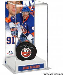 John Tavares New York Islanders Deluxe Tall Hockey Puck Case