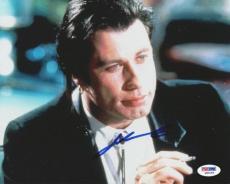 John Travolta Authentic Autographed Signed 8x10 Photo Pulp Fiction PSA/DNA