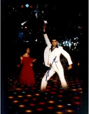 John Travolta Autographed 11'' x 14'' Hand Up Photograph