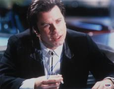 John Travolta  Autographed 11x14 PSA/DNA