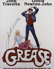 "John Travolta Autographed 8"" x 10"" Grease Photograph - PSA/DNA"