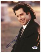 "John Travolta Autographed 8""x 10"" Michael Smiling Photograph - PSA/DNA COA"