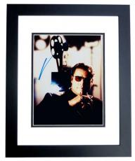 John Travolta Autographed 8x10 Photo BLACK CUSTOM FRAME