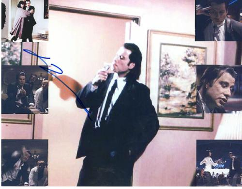 John Travolta Autographed 8x10 Signed Pulp Fiction Photo UACC RD AFTAL