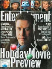 John Travolta autographed Entertainment Weekly Magazine (JSA #I94247)
