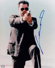 John Travolta Autographed FACE OFF 8x10 Photo