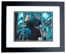 John Travolta Autographed PELHAM 123 8x10 Photo BLACK CUSTOM FRAME