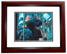 John Travolta Autographed PELHAM 123 8x10 Photo MAHOGANY CUSTOM FRAME