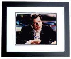 John Travolta Signed - Autographed PULP FICTION 8x10 inch Photo BLACK CUSTOM FRAME - Guaranteed to pass PSA or JSA